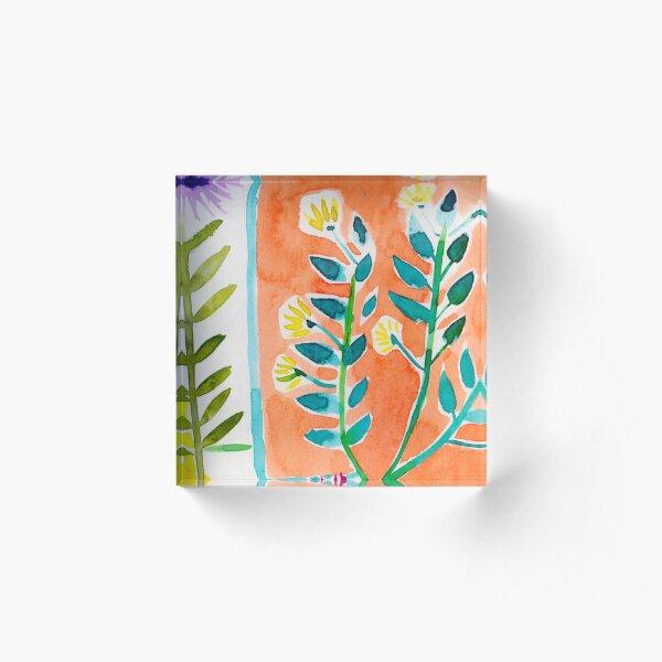 Wild Garden 3 Acrylic Block