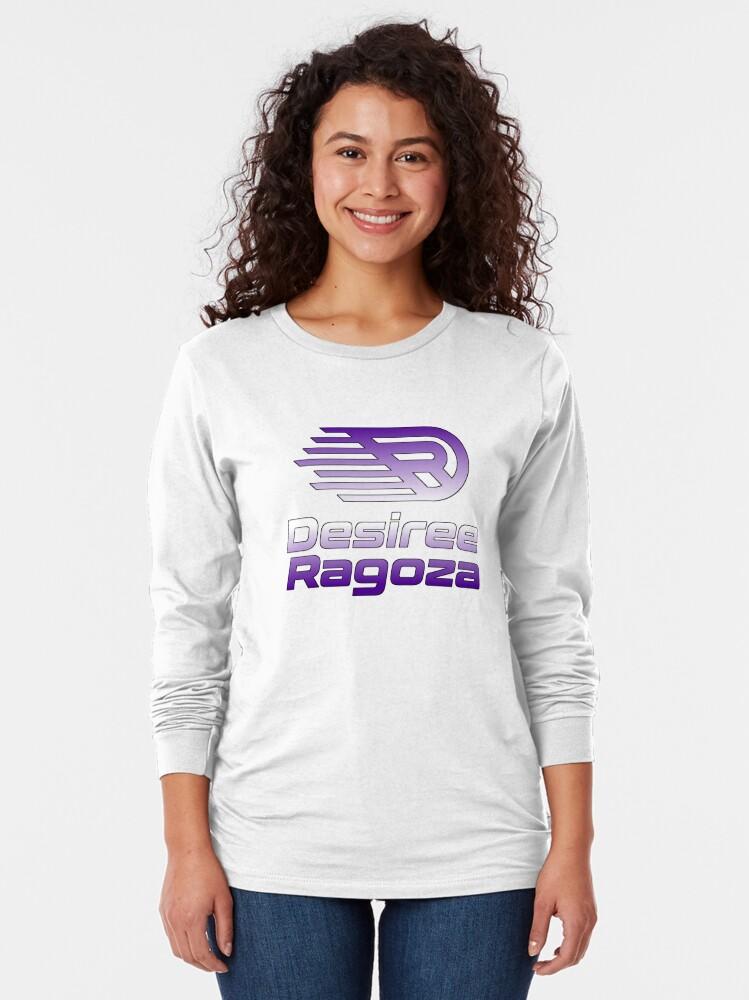 Alternate view of Desiree Ragoza Long Sleeve T-Shirt