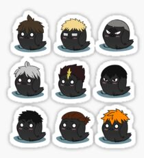 Karasuno Stickers Full Set Sticker