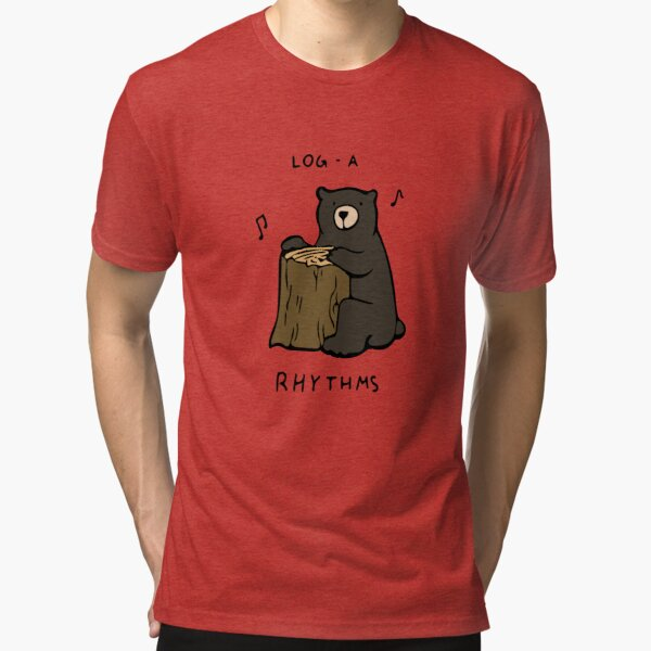 Log-a-Rhythms Tri-blend T-Shirt