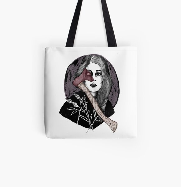 Lizzie and Her Axe All Over Print Tote Bag