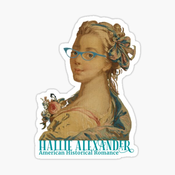 Hallie Alexander - Author Sticker