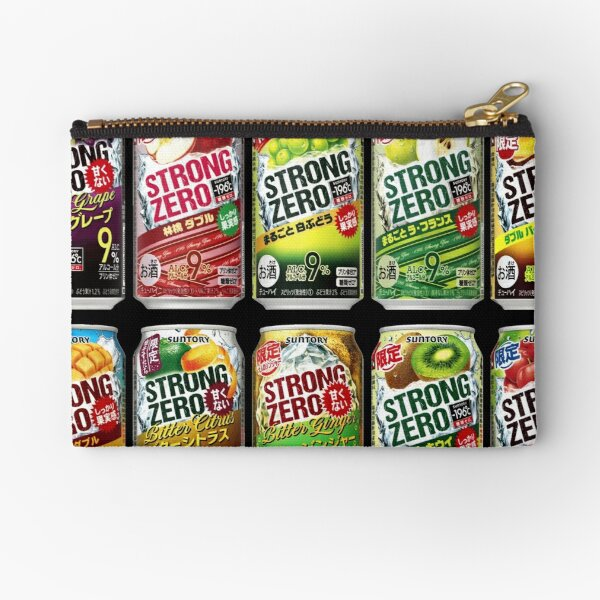 STRONG ZERO! - Let's Party in Japan!!! Zipper Pouch