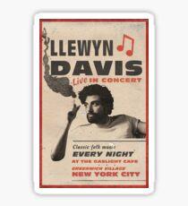 Llewyn Davis Live in Concert Sticker