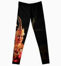 Balinese dancer Leggings