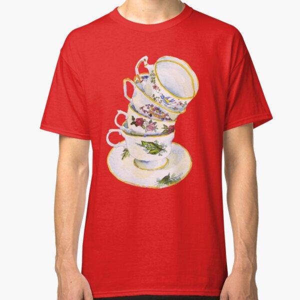 Great Grandma's Teacups Classic T-Shirt