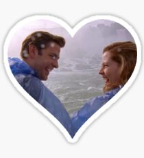 Jim and Pam-Niagara Sticker