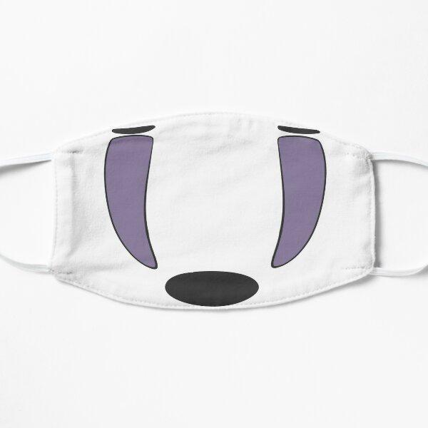 No Face Mask Flat Mask