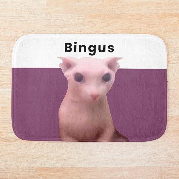 This is Bingus Bath Mat