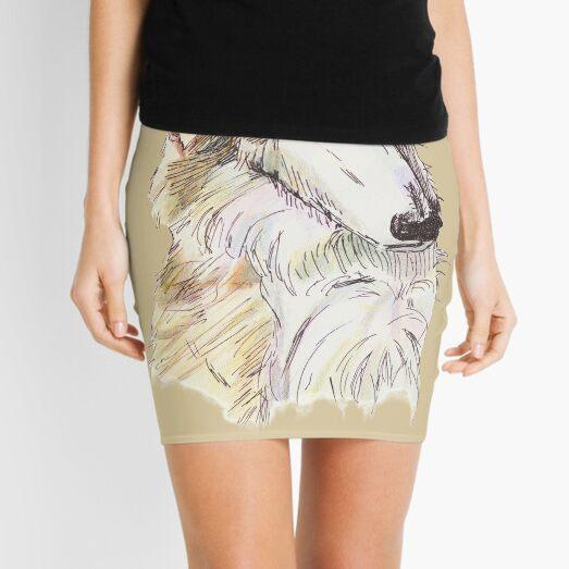 Borzoi Mini Skirt