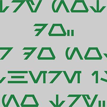 Wise Yoda (green) by daveit
