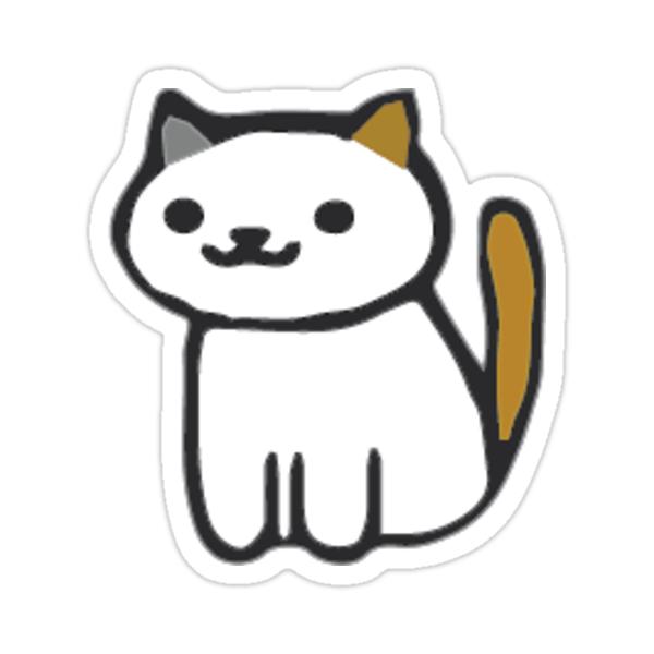 """Cute Cat Stickers"" Stickers by slau2 