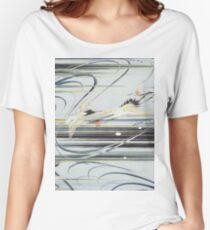 Diving Cranes  Women's Relaxed Fit T-Shirt