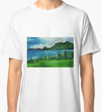 New Zealand Landscpae in Pastel Classic T-Shirt