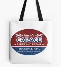 Mario's Garage Tote Bag