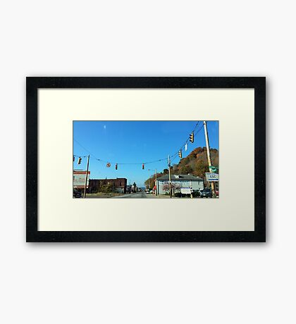 New Boston, Ohio Framed Print