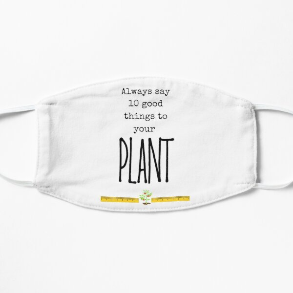 CLOY Crash Landing On You - Always say 10 good things to your plant Mask