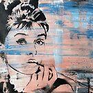 Audrey Hepburn by Katie Robinson