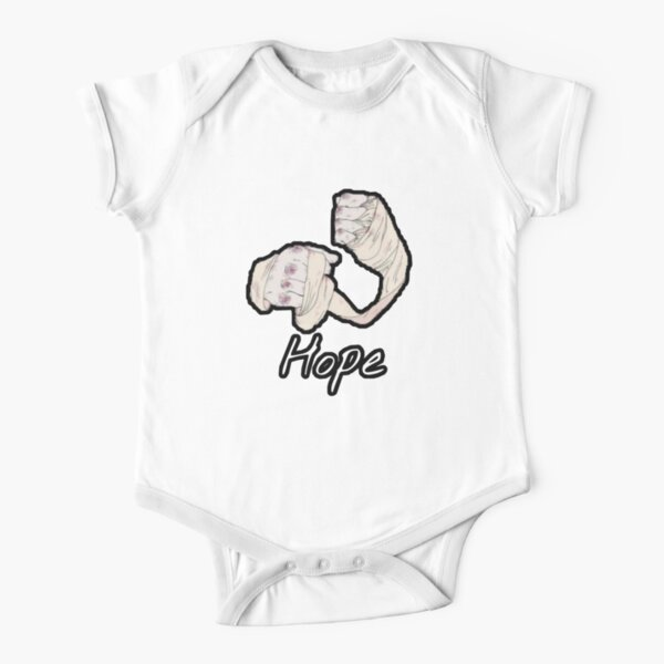 Mike Tyson Hope,mma,fighting,boxing Short Sleeve Baby One-Piece