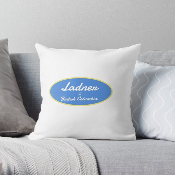 Ladner, British Columbia Throw Pillow