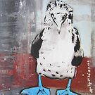 Blue Footed Boobie by Katie Robinson