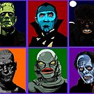 Classic Monsters by craigyule