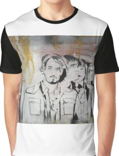 Kings of Leon Band Portrait Graphic T-Shirt