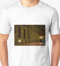 Early Morning at the Aqueduct of Segovia T-Shirt