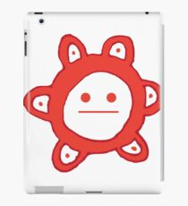 Taino Sun Poker Face iPad Case/Skin