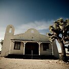 Mojave Desert Church by Graham Gilmore