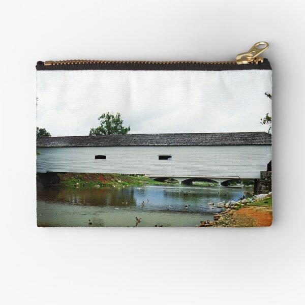 Elizabethton, TN, Covered Bridge, 2008 Zipper Pouch