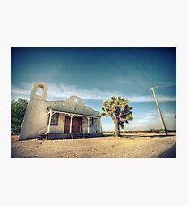Mojave Desert Church Photographic Print