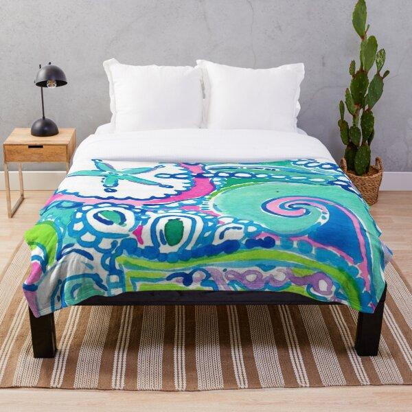 Lilly Pulitzer Design Throw Blanket