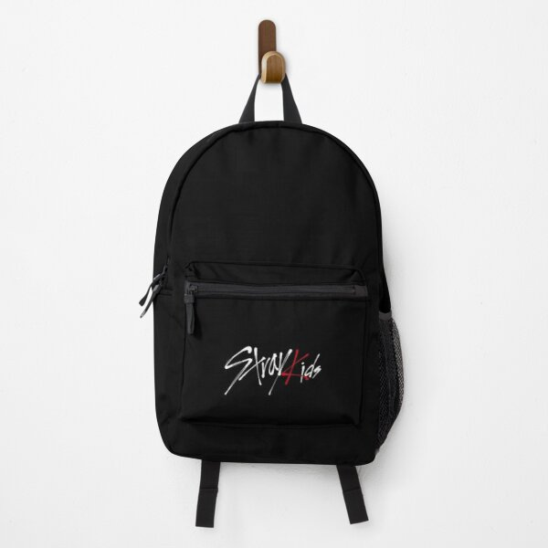 Stray kids logo black Backpack