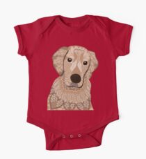 Golden Retriever 01 One Piece - Short Sleeve