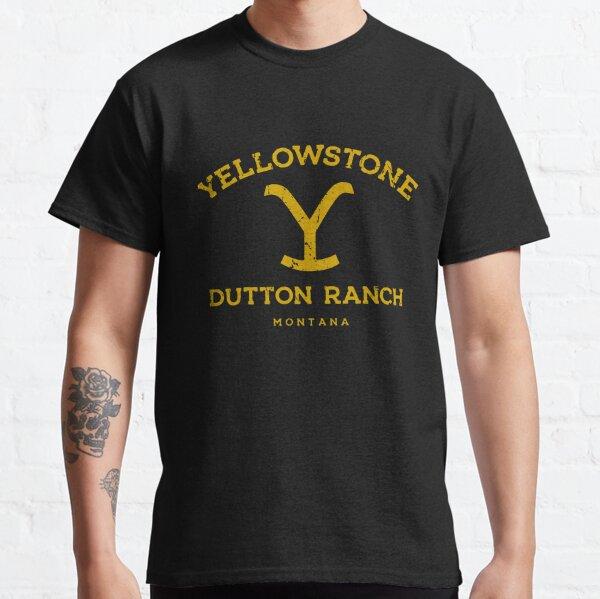 GEMLON Yellowstone Shirt Funny Dutton Ranch Apparel for Women Short Sleeve TV Show Shirts