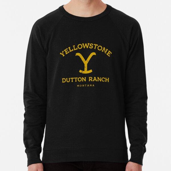 YSD Ranch Montana - Yellowstone Dutton Ranch Montana Sweatshirt léger