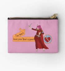 You Don't Leave Your Heart Exposed Studio Pouch