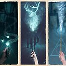 Wand series by Ajeyes