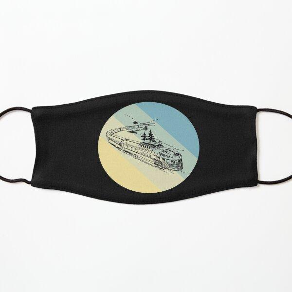 art deco trains T-shirt Kids Mask