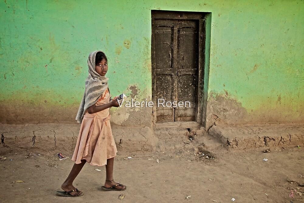 A Girl by a Door by Valerie Rosen