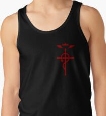 Fullmetal Alchemist - Flamel Insignia (Red) Tank Top