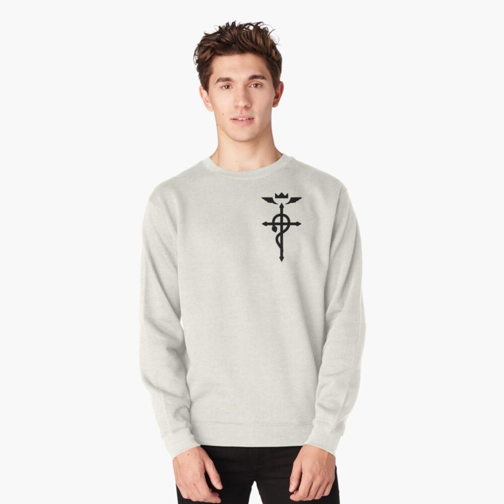 Fullmetal Alchemist - Flamel Insignia (Black) Pullover Sweatshirt