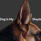 This Dog Is My Shepherd by JimPavelle
