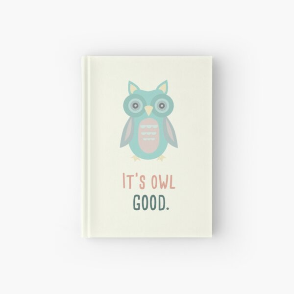 Owl  Hardcover Journal
