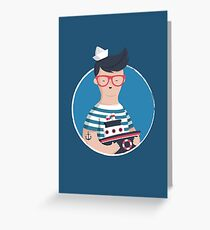 Funny Sailor Greeting Card