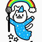 Magical Wizard Cat by obinsun