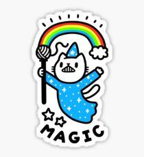Magical Wizard Cat Sticker