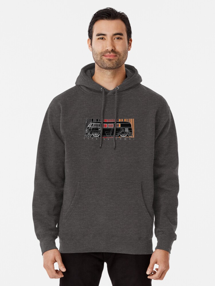 Alternate view of aircooled type 23 Pullover Hoodie