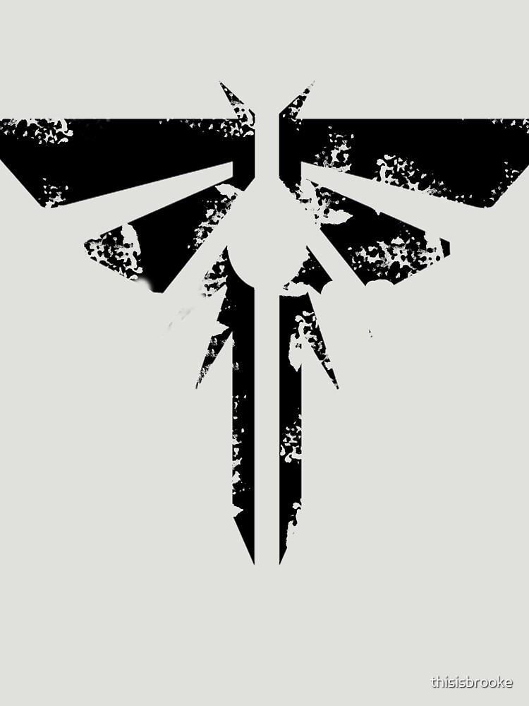 TShirtGifter presents: The Last of Us Grunge Firefly Emblem | Unisex T-Shirt